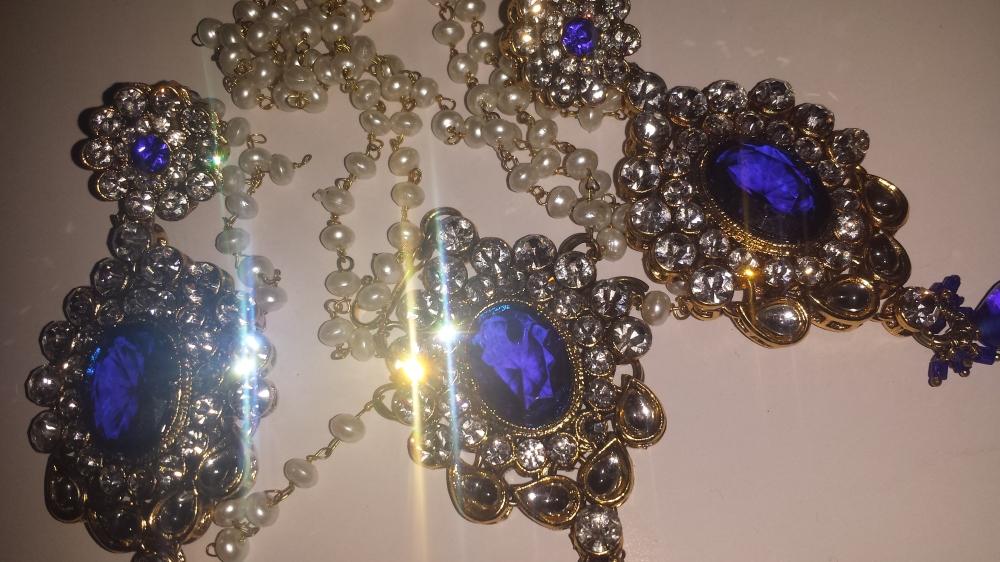 Kundan & Stone Earrings