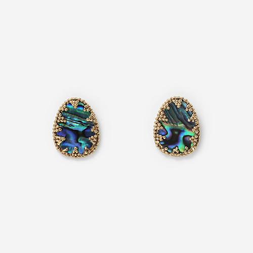 Abalone Stud Earrings - £60.82