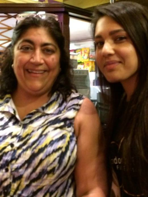 With Gurinder Chadha