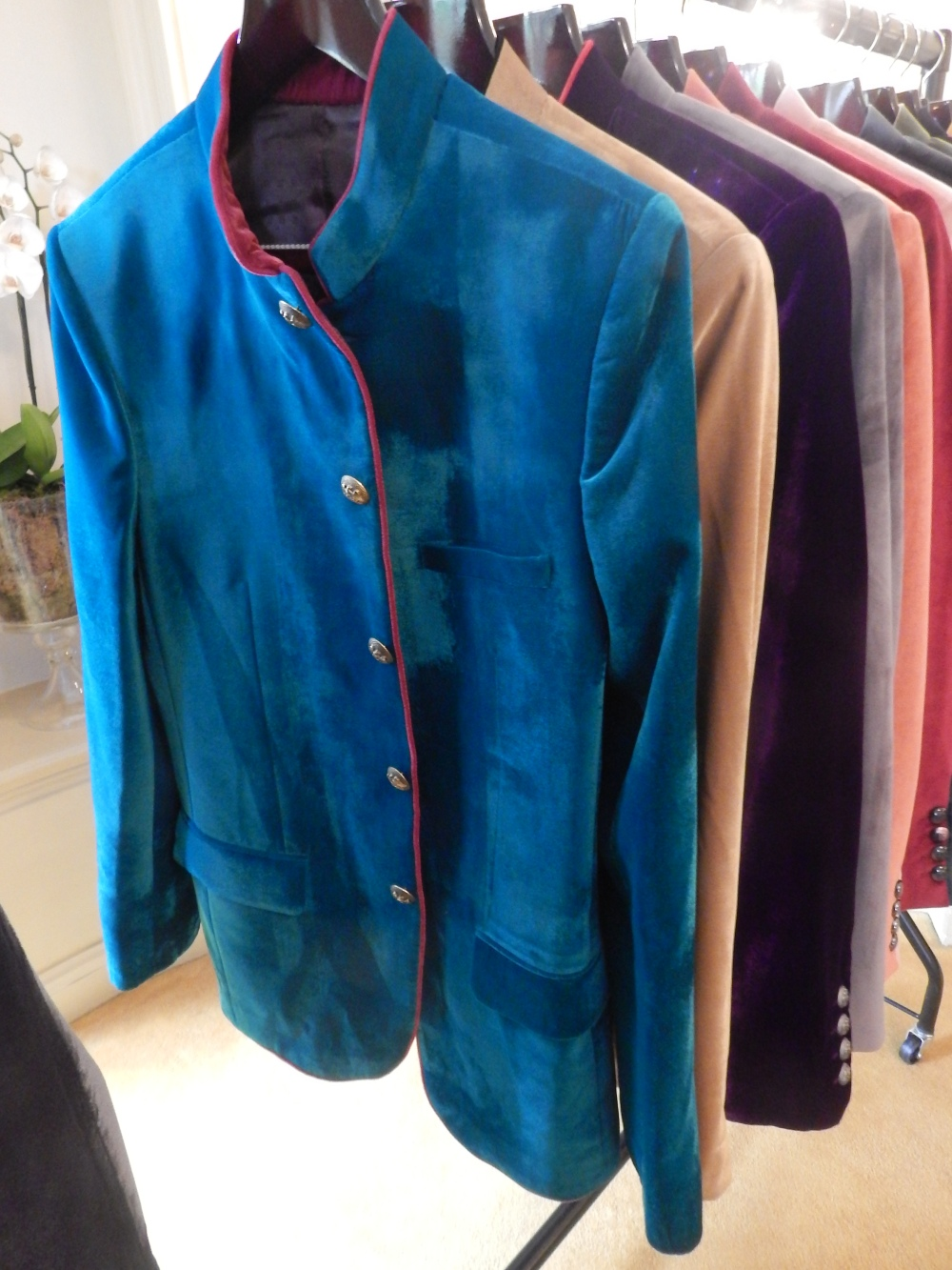 My Favourite Velvet Nehru Jacket Out Of The Range