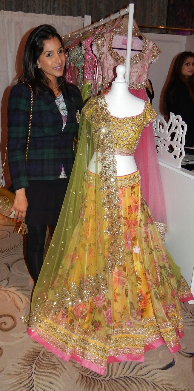 Anushree Reddy With Her Gorgeous Creation