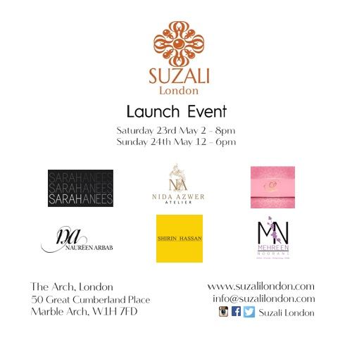 Suzali London - Invite