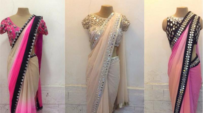 India Boulevard Sarees In An Array Of Fabrics