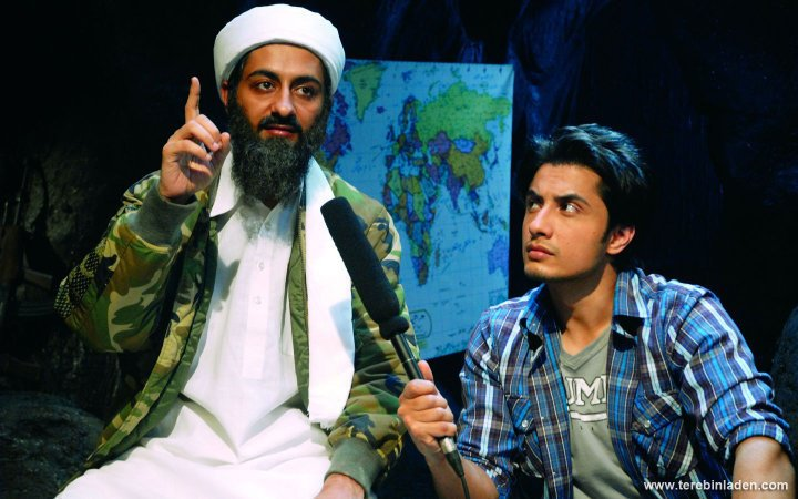 Ali Zafar & P Singh in Tere Bin Laden (2010)