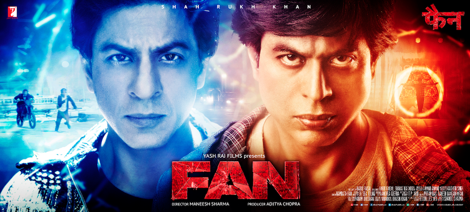 SRK in & as FAN