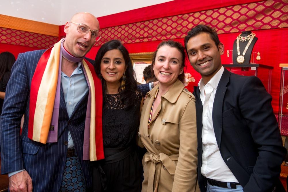 Bart Eyking, Jitesh Patel, Guest, Shalini Gupta-Patel (Photographer Credit - RAFYL)