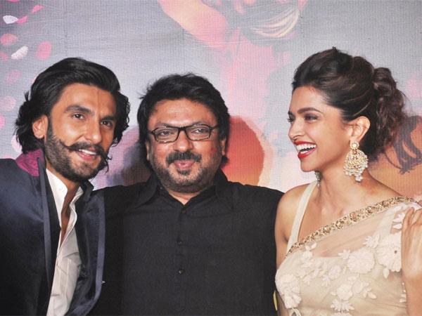 Ranveer Singh, Sanjay Leela Bhansali and Deepika Padukone - Padmavati