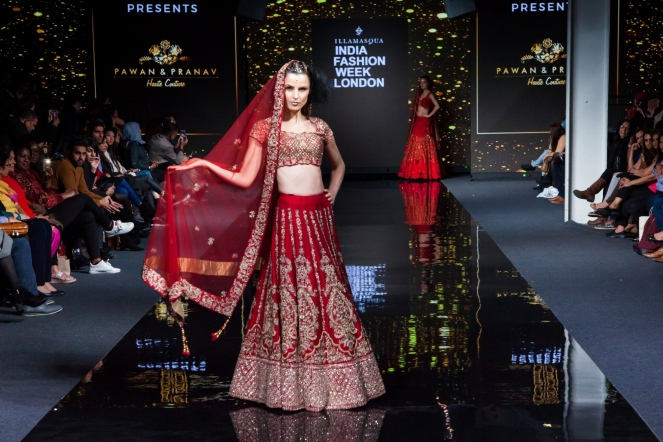 Illamasqua India Fashion Week London - Pawan & Pranav