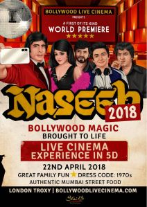 Naseeb 2018 by Bollywood Live Cinema at Troxy London