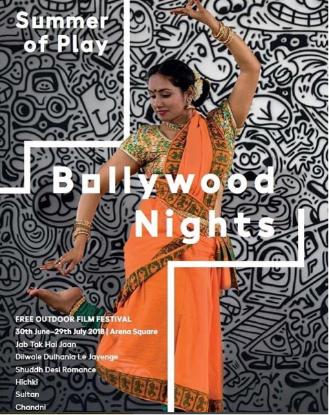 Wembley Park's Cultural Programme, Summer of Play, presents Bollywood Nights