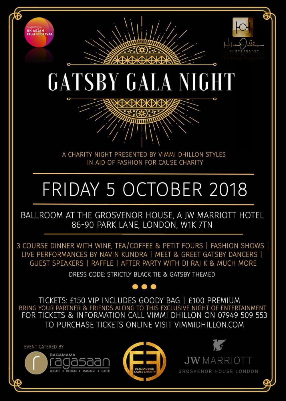 After A Successful Debut Vimmi Dhillon Styles Returns With A Gatsby