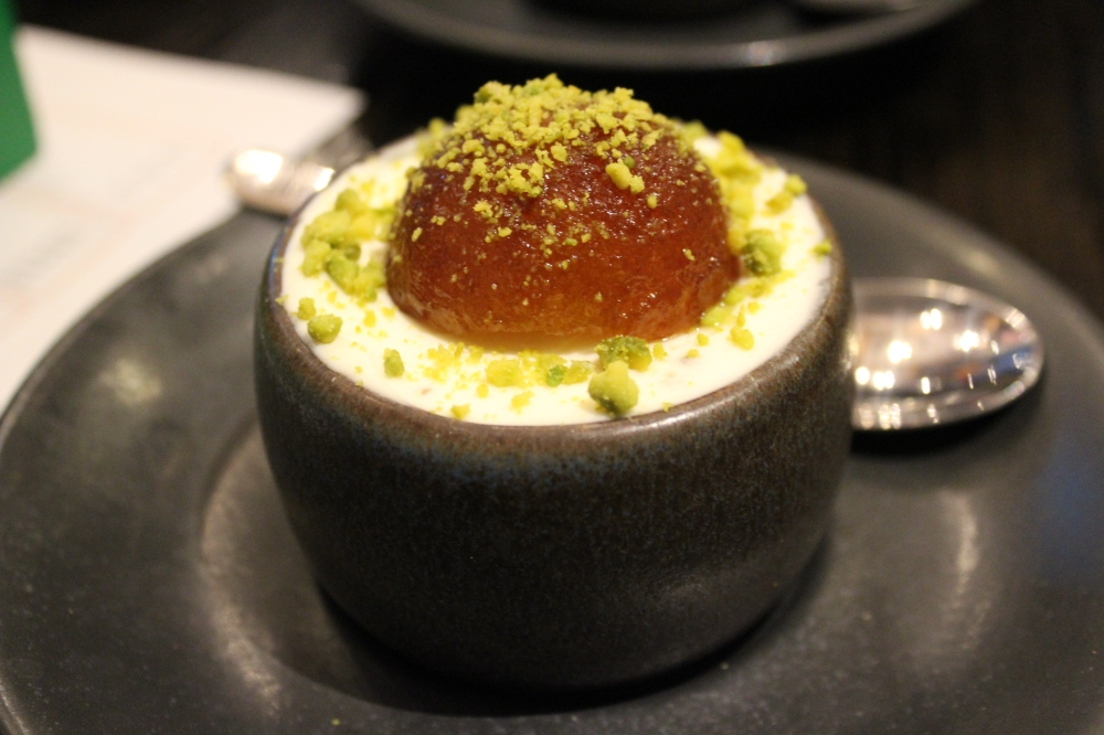 Sohowala Indian Street Food London - Gulab Jamun Cheesecake