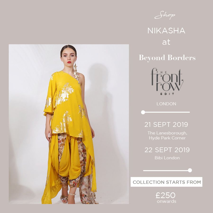Beyond Border 2019 by The Front Row Events London - Indian Fashion