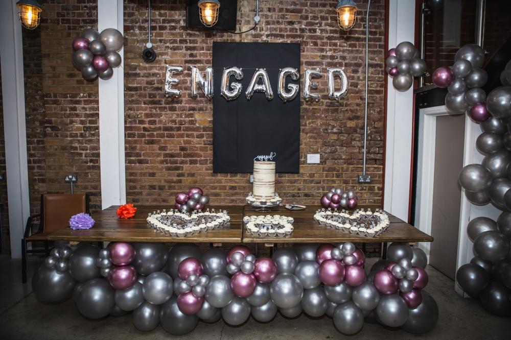 London Ki Ladki Engagement Party | Created by Aurelija Balloonista