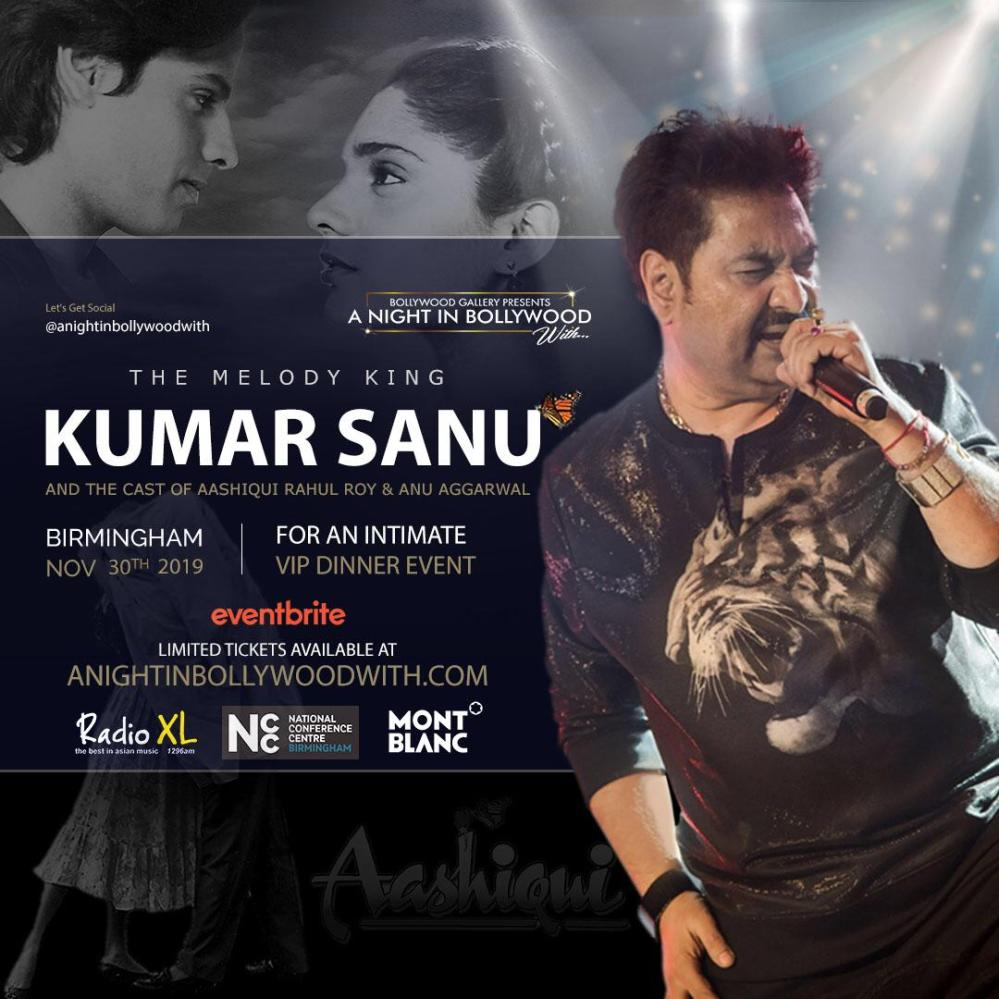 Kumar Sanu in Birmingham